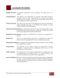 Format Of A Project Proposal Idm Group Co