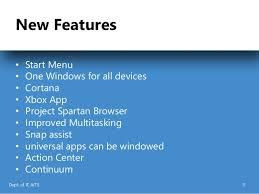 Window 10 Features Windows 10