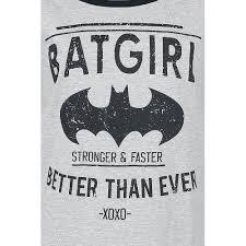 JZXEGBW Batgirl - Better Than Ever Langarmshirt grau meliert/schwarz ...