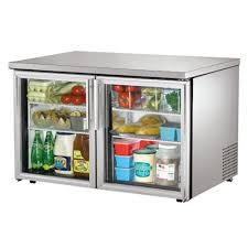 refrigerator 48 wide. true® low profile glass door undercounter refrigerator, 48\ refrigerator 48 wide