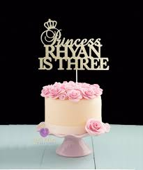 Birthday Princess Cake Topper