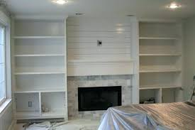 custom built in bookshelves cost of custom built in shelves built in bookshelves around fireplace plans