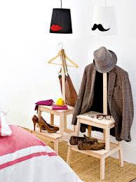 Ikea Bekvam Stool Coat Rack Shelves