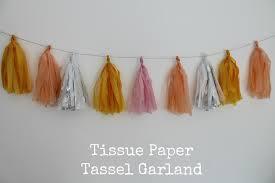 diy tutorial tissue paper tassel garland boho weddings for the boho luxe bride