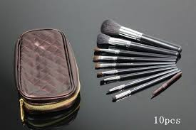 mac makeup 10pcs brushes 0 155kg