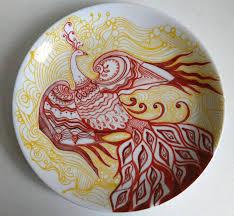 <b>Fire Phoenix Painting</b> by Marcia Tannure | Saatchi Art