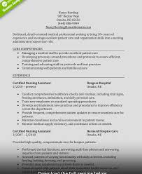 Colorful Sample Resume For Certified Nursing Assistant With No