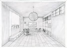 Perspektive Zeichnen Zimmer