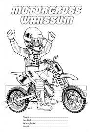 Kleurwedstrijd Motorcross Wanssum