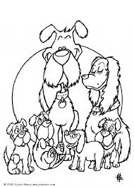 Small Picture Cute dogs coloring page Nice dog drawing for kids More animals