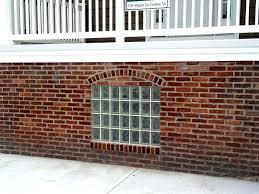 glass block windows cost glass block basement window commercial glass block bar basement window glass block
