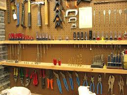 garage tool organization ideas best shelf on