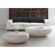 river stone abstract coffee table