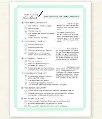 Party Planning Template Free Checklist Event Checklist Template Excel Free Free Printable Birthday
