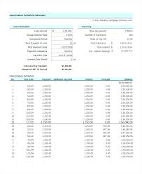 Loan Amortization Schedule Excel 2013 Template Tem Tailoredswift Co