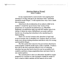 college application essay help why abortion is wrong essay don marquis sort of being whose life it is seriously wrong to end