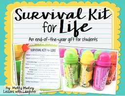 survival kit for life an end of the year gift for students lessons with laughter