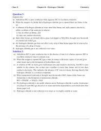 icse selina chemistry solutions class 10 chapter 8