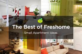 Studio Apartments Decorating Small Spaces Interesting 48 Best Small Apartment Design Ideas Ever Freshome