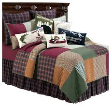 gibson lake full queen quilt set by c f 4 piece rustic rustic bedding comforter sets rustic