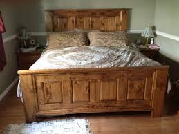 King size wood bed frame plans — Joomant Designs