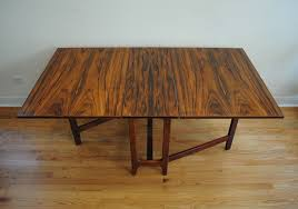 Rosewood Dining Table Danish Modern Rosewood Dining Table Phylum Furniture