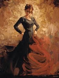 flamenco dancer flamenco ii