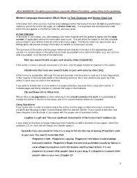 8 9 Mla Style Citation Example Salescv Info