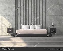 polished concrete floor loft. Modern Loft Style Bedroom Render Concrete Tile Floor Polished \u2014 Stock Photo T