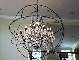 crystal and metal orb chandelier metal and crystal chandelier chandelier contemporary chandeliers metal globe chandelier globe crystal and metal orb
