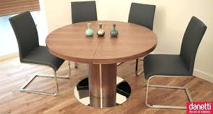 expandable round dining room table modern minimalist expandable round dining table set plans for room wooden