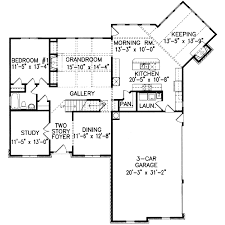 plan 15798ge angled keeping room home plan keeping room 1 5 Story House Plans With Loft acadian house plans 1.5 Story House Plans with 3 Car Garage