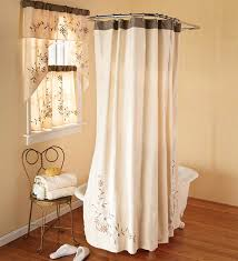 fabric shower curtains with matching window valance mccurtaincounty
