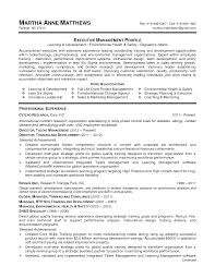 of human resources resume