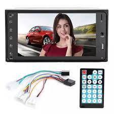 Araba Bluetooth MP5 HD Stereo müzik çalar 12V Toyota Corolla için Fit 7 inç  evrensel|Car MP4 & MP5 Players