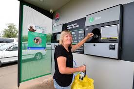 Reverse Vending Machine Australia Awesome Vandals Attack Reverse Vending Machine At Victoria Park Daily Liberal