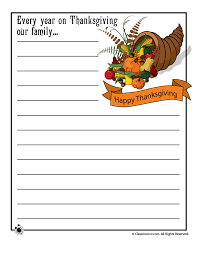 creative printable writing papers for thanksgiving happy   printable thanksgiving stories for kids