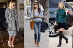 Celebrity fashion trends fall foto