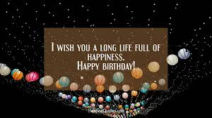 Best Wishes Quotes 5 Best I Wish You A Long Life Full Of Happiness HoopoeQuotes