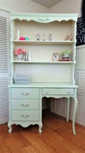 girls desk furniture. #Vintage Broyhill #FrenchProvincial Desk And Hutch - Shabby/Cottage Chic Girls Furniture In Mint Green :
