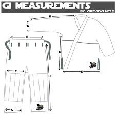 Flow Kimonos Size Chart Gireviews Size Chart Correct Brazilian Jiu Jitsu Gi Reviews