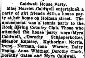 Caldwell House Party - Newspapers.com