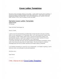 Resume Examples Templates Free Cover Letter For Online Job