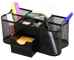 com decobros desk supplies organizer caddy black office s