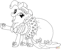 My Little Pony Coloring Pictures To Print Pages Equestria Girls