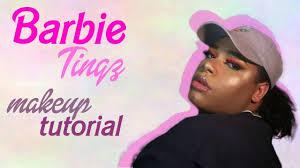 nicki minaj barbie tingz makeup tutorial