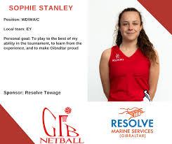 Meet the team... Sophie Stanley... - Gibraltar Netball Association |  Facebook