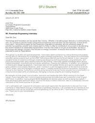 Cover Letter Gallery Engineering By Sfu Work Flipsnack