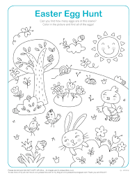 Magic Easter Activity Sheets Worksheets #902