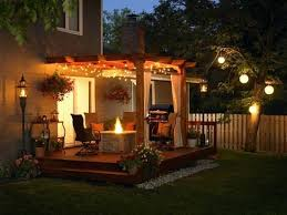 outdoor patio lighting ideas diy. Outdoor Patio Ideas 535 Small With Fire Pit Diy Lighting